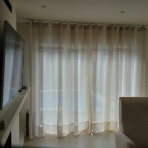Cortinas de doble o triple pliegue